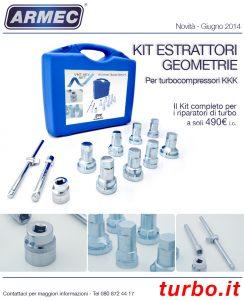 Kit Estrattori turbina KKK