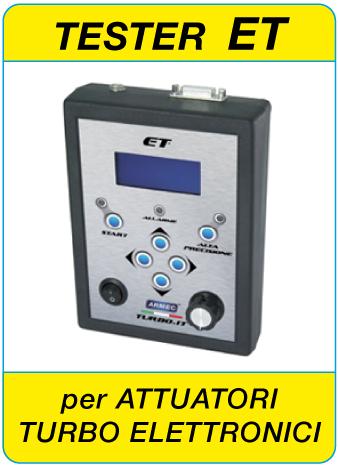 Tester ET per attuatori elettronici Hella KKK Mitsubishi Denso Sonceboz